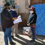 Ayuda directa a familias de Huacalera y El Perchel afectadas por lluvias