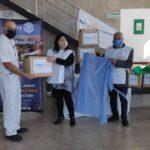 El Rotary Club donó insumos al COE