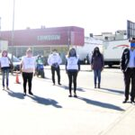 Concejales y empleados realizaron control de  supermercados