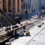 Mantenimiento de calles céntricas