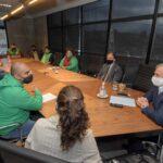 El Gobierno se reunió con referentes gremiales