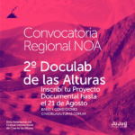 """Convocatoria abierta para participar del """"2° Doculab de las Alturas"""""""