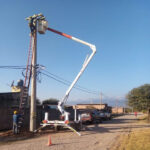 Más conexiones de energía eléctrica segura en Alto Comedero, El Piquete y Pampa Blanca