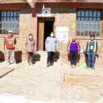 Trabajo mancomunado con voluntarios sociales en El Cóndor
