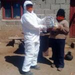 Titulares de PLASONUP de Pumahuasi recibieron las Unidades Alimentarias