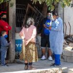 Operativo de control sanitario en Barrio Coronel Arias