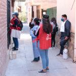 Agentes de salud recorren barrios de nuestra capital