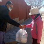 Refuerzos alimentarios y acompañamiento a familias de Cochinoca