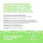Invitan al 16° encuentro del Ciclo de Conversatorios