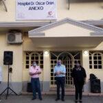 Morales inauguró obras para el cuidado de la salud