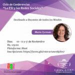 Ciclo de conferencias «La ESI y las Redes sociales»