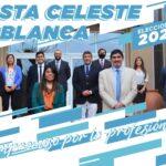 Lista Celeste y Blanca propone cambios innovadores.