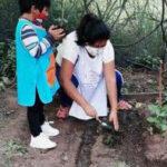 Desarrollo Humano. Taller de «Huerta Escolar» en el JIN 6 de Barrio Luján