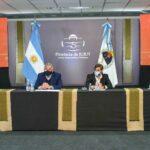 Morales presentó 17 nuevas líneas de financiamiento por $ 390 millones
