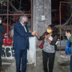 Se inauguró obra de iluminación en Barrio La Merced de Capital