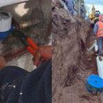 Más de 6.000 beneficiarios. Agua y cloacas para el barrio Las Tipas en Palpalá