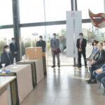 Licitación . Morales encabezó la apertura de sobres para la construcción de la nueva cárcel en Chalicán