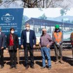 PROMACE. Morales puso en marcha la construcción de un edificio educativo en Arroyo Colorado