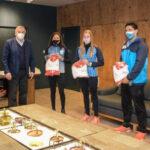 Morales recibió a la deportista olímpica Cecilia Biagioli