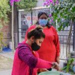 Asistencia. Visita a instituciones de contención social en Perico